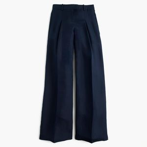 Linen/ cotton high wasted wide leg pant